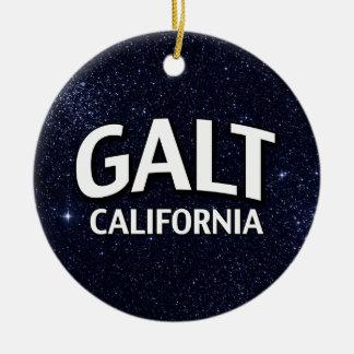 Galt Califórnia Ornamentos