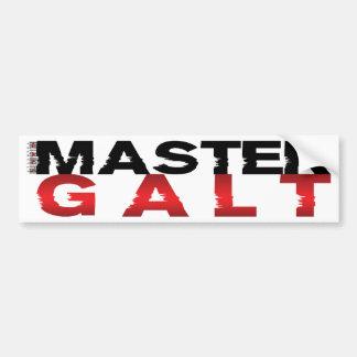 Galt mestre adesivo para carro