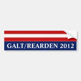Galt/Rearden 2012 Adesivo Para Carro