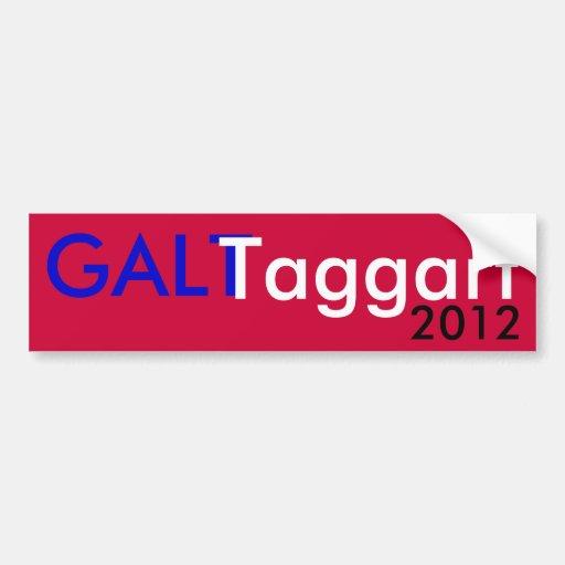 Galt Taggart 2012 Adesivo