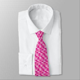 Gamer cor-de-rosa do teste padrão | de Pixelated Gravata