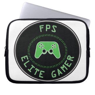 Gamer da elite de FPS Capa De Notebook