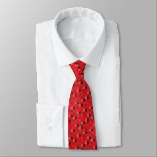 Gamer vermelho do teste padrão | de Pixelated Gravata