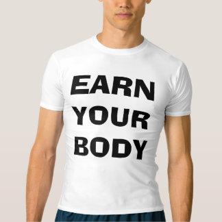 Ganhe a camisa da compressão dos seus homens do