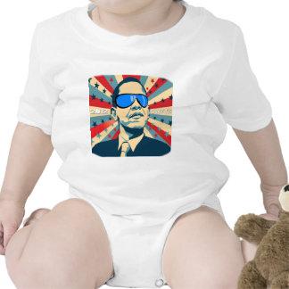Ganhos de Obama - política engraçada Macacãozinhos Para Bebê