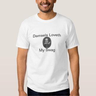 Ganhos de Shakespeare T-shirts