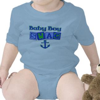 Ganhos do bebé camisetas