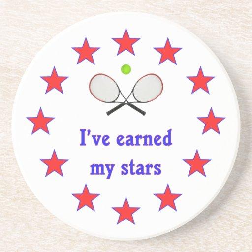 Ganhou a minhas estrelas o tênis porta-copos
