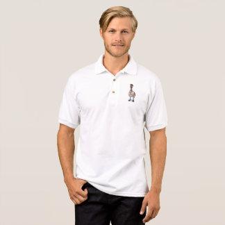 Ganso do aviador t-shirt polo