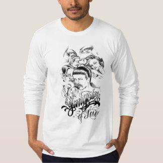 gansta love tshirts