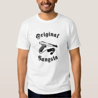 Gansta original camiseta
