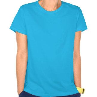 Garça-real azul em vôo t-shirt