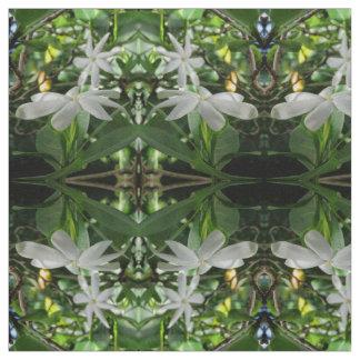 Gardenia de Tahitian Tecido