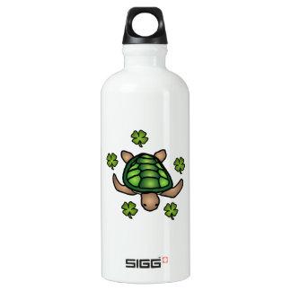 Garrafa afortunada da tartaruga