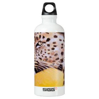 Garrafa D'água Arte do leopardo