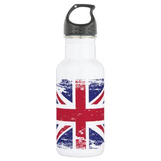 Garrafa D'água Bandeira de Inglaterra do Grunge