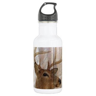 Garrafa D'água Cervos primitivos ocidentais da madeira do celeiro