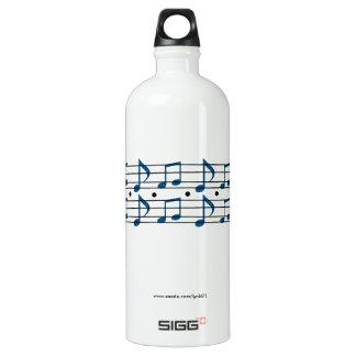 Garrafa D'água De Alumínio Notas da música