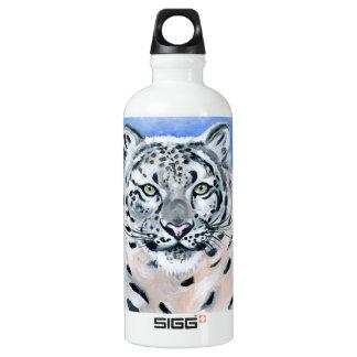 Garrafa D'água Leopardo de neve