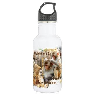 Garrafa D'água Macacos