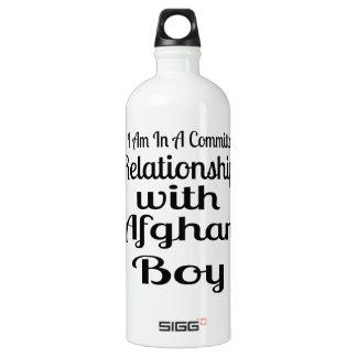 Garrafa D'água Relação com menino afegão