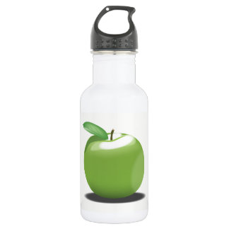 Garrafa De Aço Inoxidável Apple verde