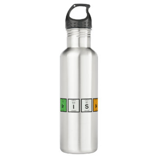 Garrafa De Aço Inoxidável Elementos químicos irlandeses Zy4ra