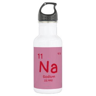 Garrafa De Aço Inoxidável Química do hipster