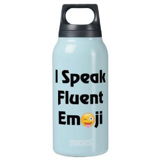 Garrafa De Água Térmica Fale Emoji fluente