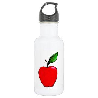 Garrafa de água vermelha de Apple