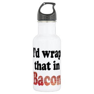 Garrafa Envoltório do bacon