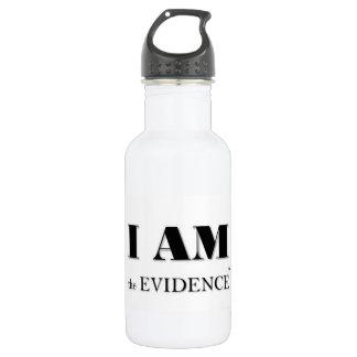 Garrafa Eu sou a assinatura Waterbottle da evidência