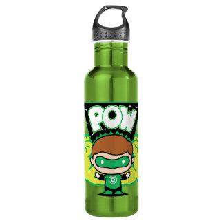 Garrafa Lanterna verde de Chibi que forma os punhos