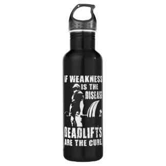 Garrafa Motivação do exercício - Deadlift é a cura