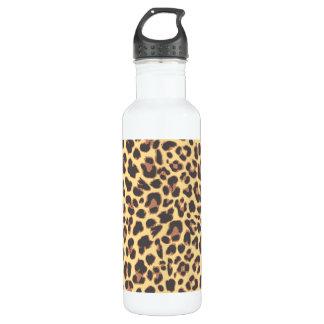 Garrafa Padrões da pele animal do impressão do leopardo
