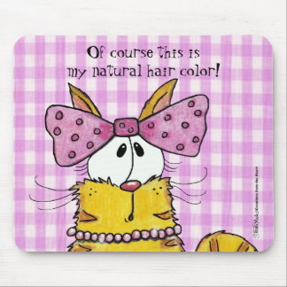 Gatinho da Suzette-Guloseima Mouse Pad