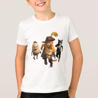 Gatinho de Humpty do Puss do CG Tshirt