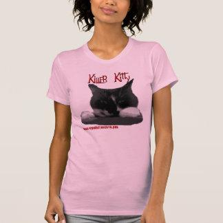 Gatinho do assassino t-shirt