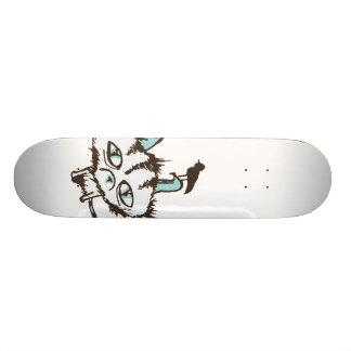 Gatinho do céu da cerceta shape de skate 18,7cm