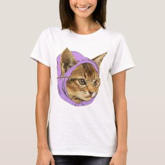 Gatinho do hipster t-shirt