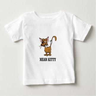 gatinho médio yeah camiseta para bebê