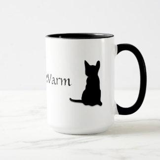 Gatinho morno do gatinho macio - caneca bonito