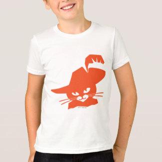 Gato alaranjado camisetas