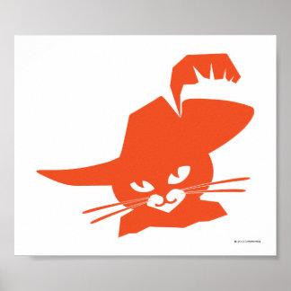 Gato alaranjado poster