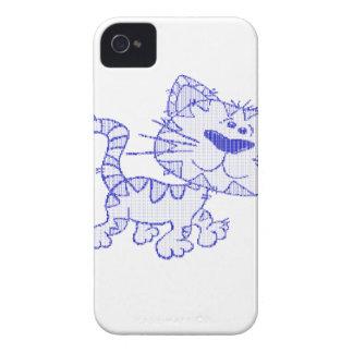 Gato azul iPhone 4 capas