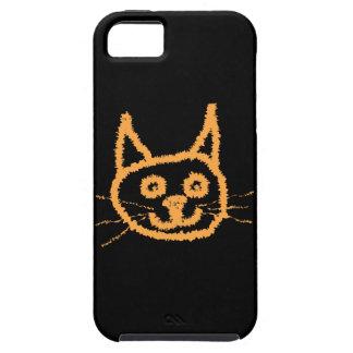 Gato bonito do gengibre capas para iPhone 5