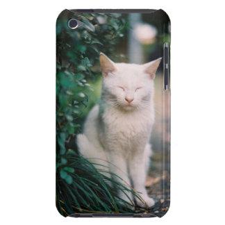 Gato branco capas iPod touch Case-Mate