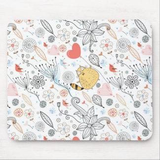 Gato carnudo mouse pad