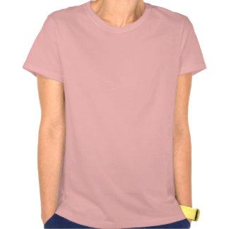 Gato com uma rima camisetas