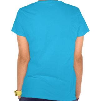 Gato com uma rima t-shirts